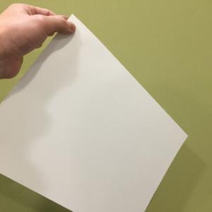 紙を使ったワーク